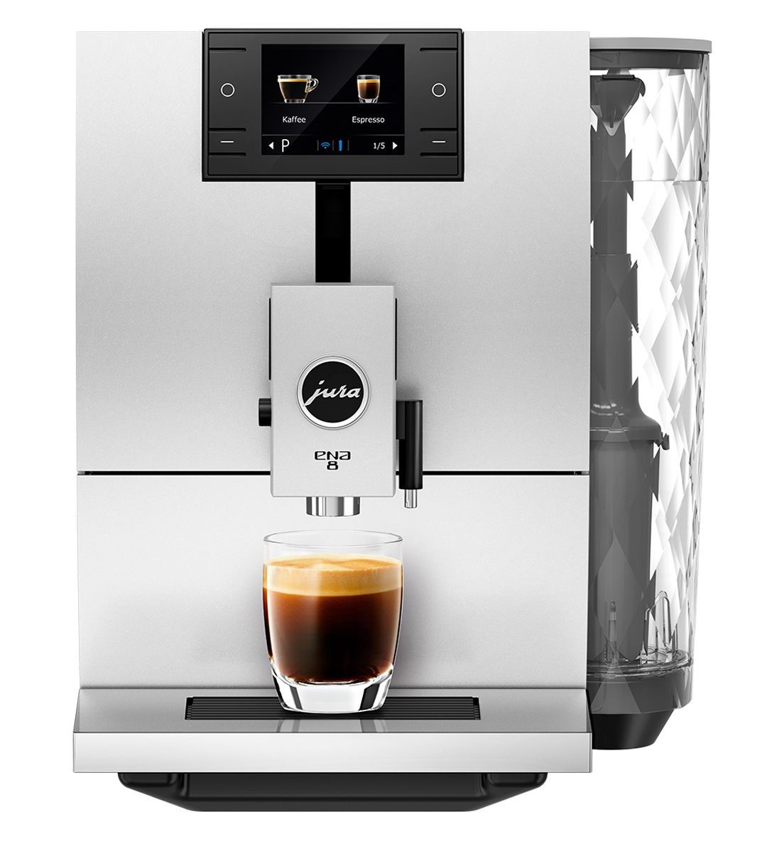 Jura Ena 8 Automatic Espresso Machine Nordic White 15284